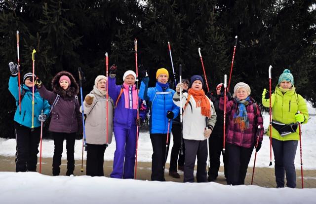 Группа скандинавской ходьбы «Смехоходы»