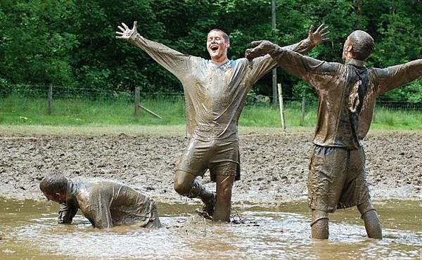 футбол, только по болоту