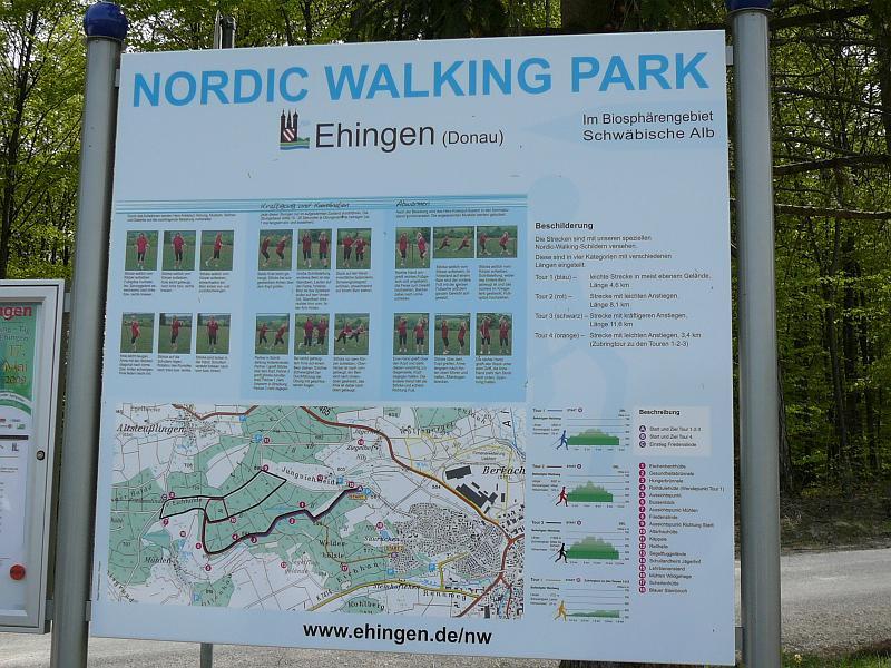 схема тропы для скандинавской ходьбы