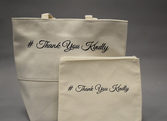 Thank You Kindly Tote and Compact Set