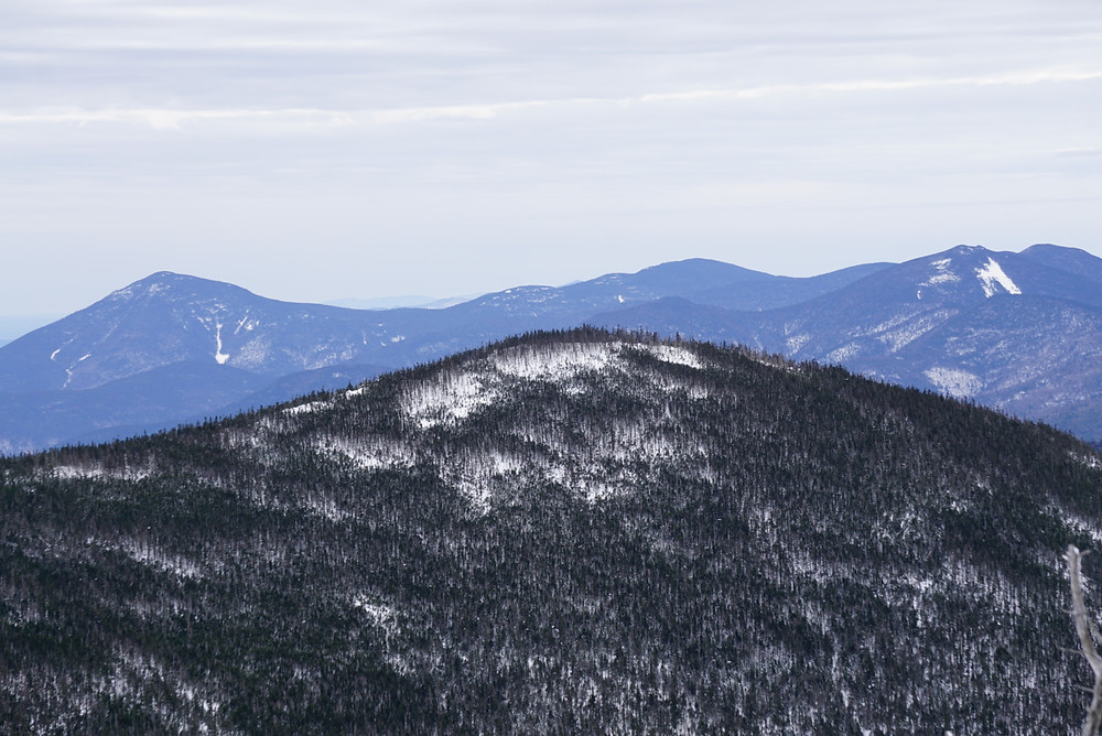 mountain top of the Hancocks