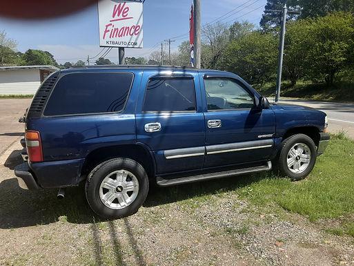 2003 Chevrolet Tahoe  227k Miles  $4799