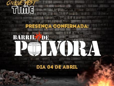 BARRIL DE PÓLVORA: banda é confirmada no 'Ring of Time Online Fest'