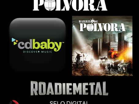 BARRIL DE PÓLVORA: primeiro álbum é relançado pela Roadie Metal Digital