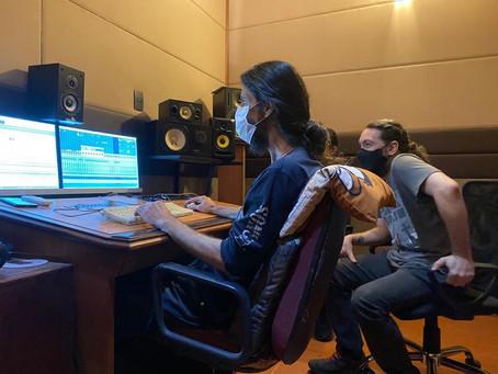 BARRIL DE PÓLVORA: banda inicia as mixagens do novo single
