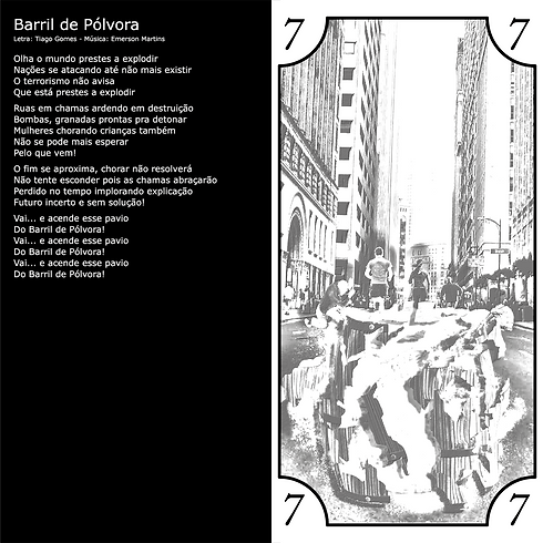 Letra da Música Barril de Pólvora da banda Barril de Pólvora
