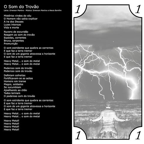 Letra da Música O Som do Trovão da banda Barril de Pólvora