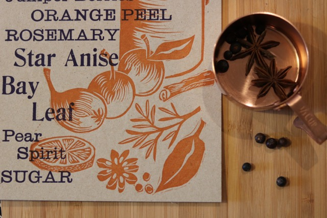 Mulled Cider Recipe Card