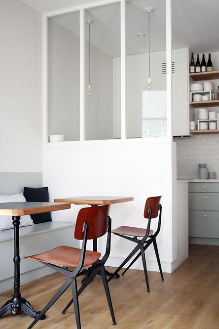 Restaurant Glaz Nantes Delphine imbert architecture interieure