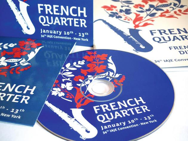 "CULTURESFRANCE - ""FRENCH QUARTER"""