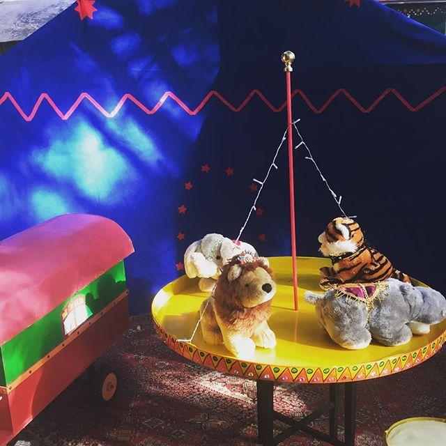 Approchez Approchez ! _Le Cirque va commencer..._Nouveau spectacle de Armelle et Peppo à découvrir l