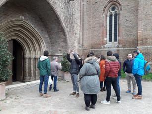 Journée d'étude slow tourisme dans le Gers pour des Master Tourisme de Pau !