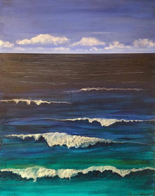 CAROLYN ROGERS RICHARD: Painting