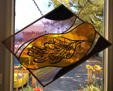 ANNE RYAN MILLER: Stained Glass & Transformed Photography