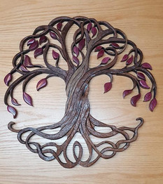 PAUL NELSON: Wood Intarsia