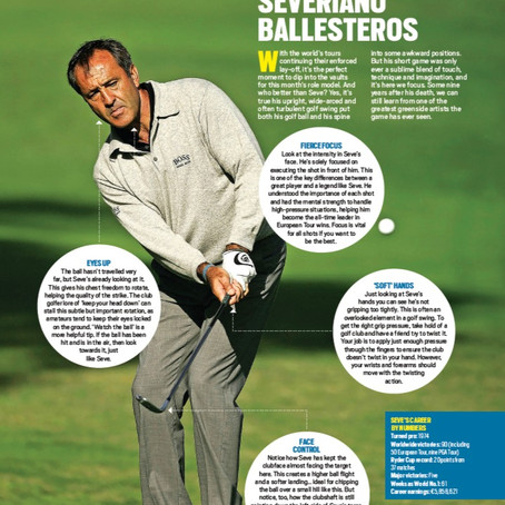 Today's Golfer Magazine - My Article on Seve Ballesteros