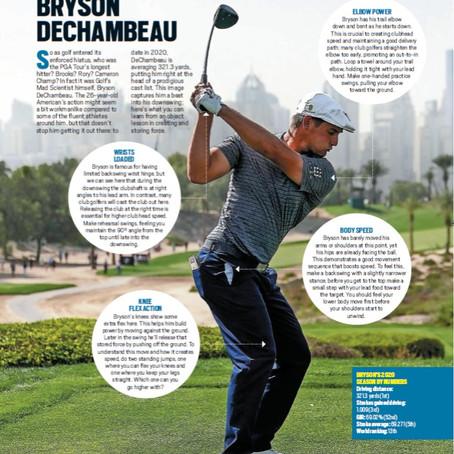 Today's Golfer Magazine - My Article on Bryson DeChambeau