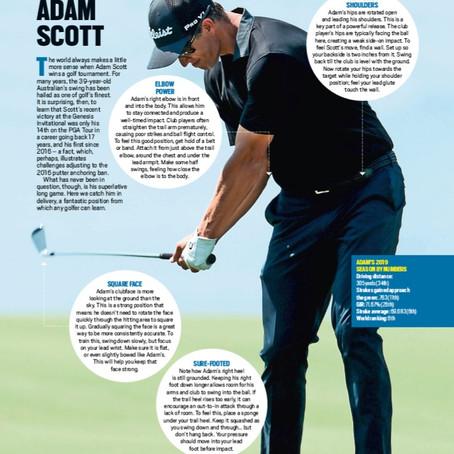 Today's Golfer Magazine - My Article on Adam Scott