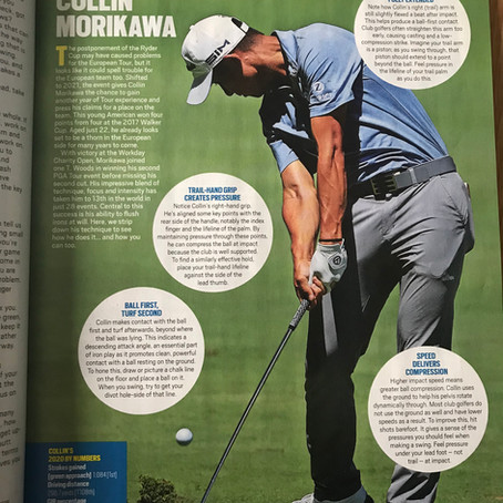 Today's Golfer Magazine - My Article on Collin Morikawa