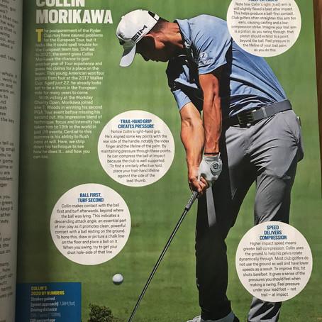 Today's Golfer Magazine - My Article on Collin Morikawa