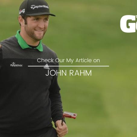 Today's Golfer Magazine - My Article on Jon Rahm