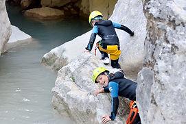 canyoning, Saint Claude, Haut Jura