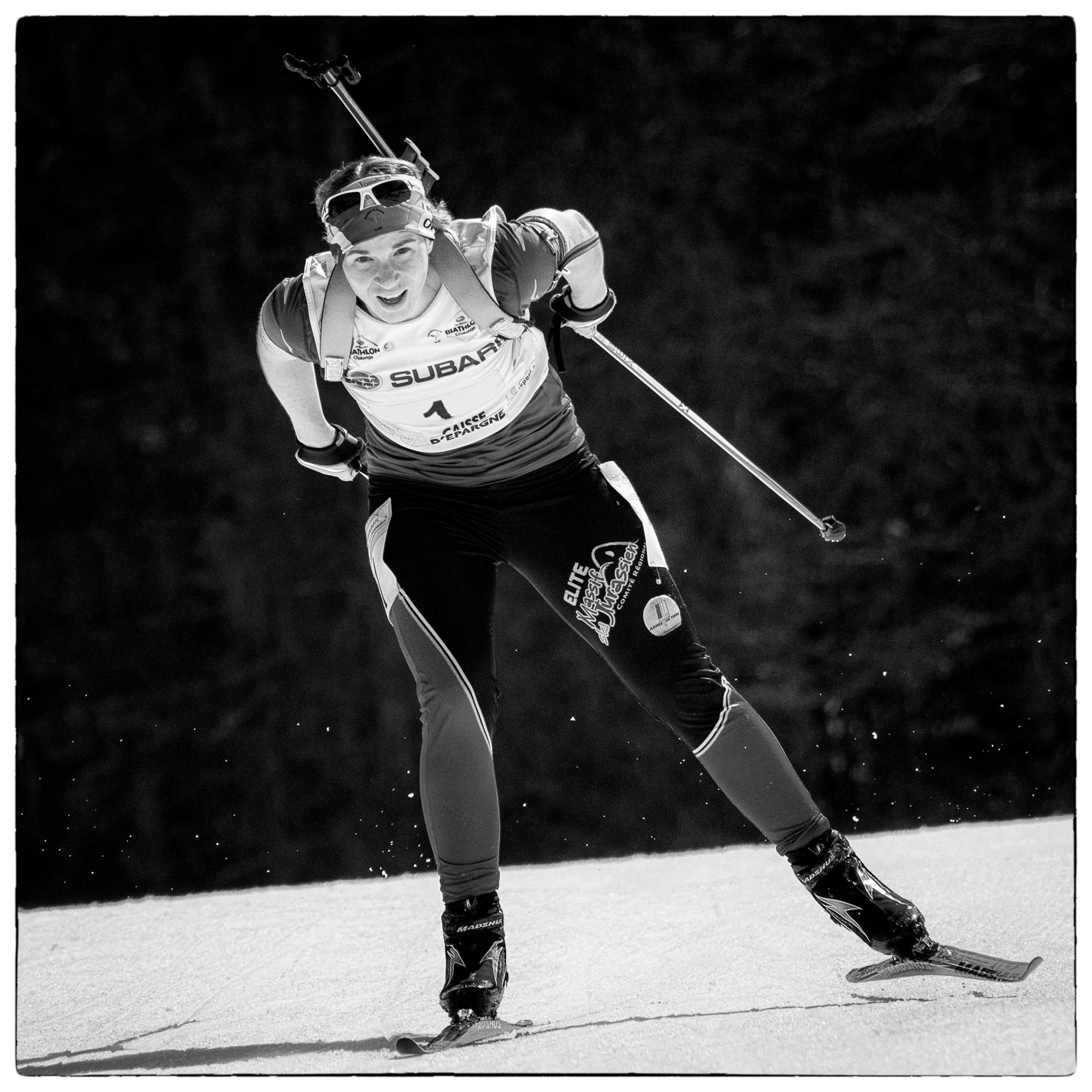 Anaïs Bescond ; Biathlon