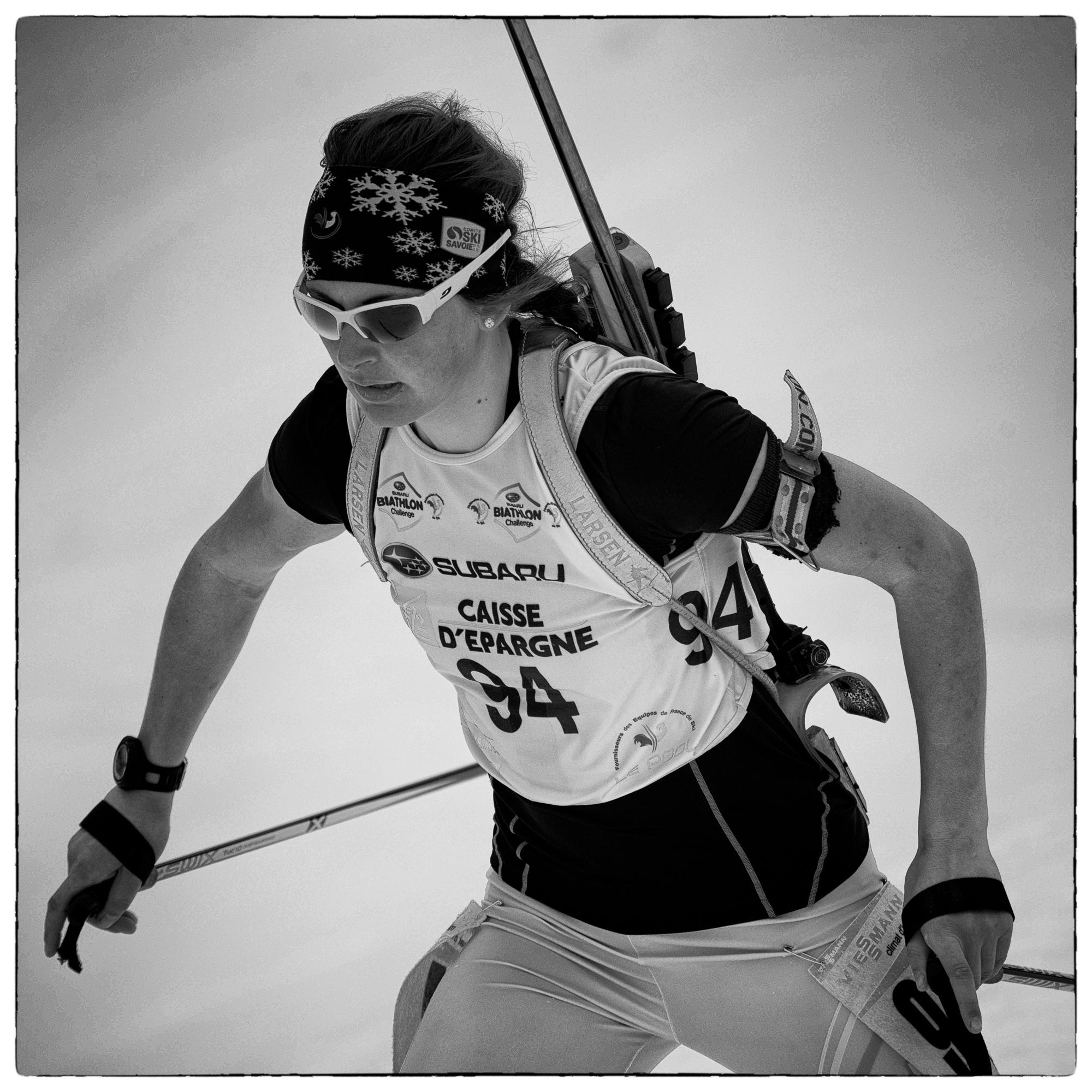 Justine Braisaz ; biathlon