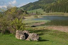 baignade lac de lamoura