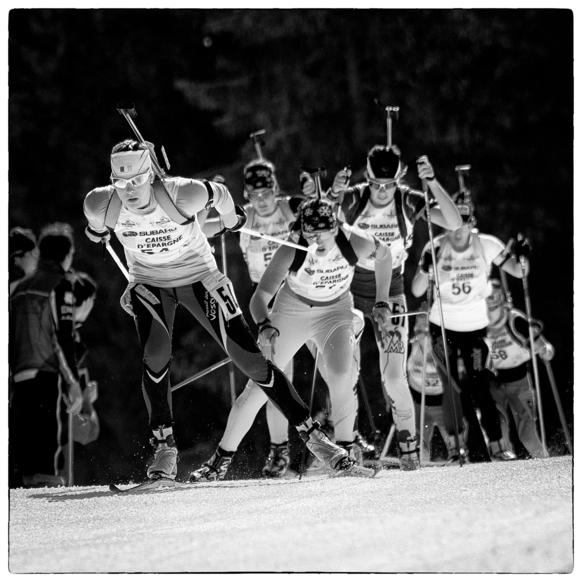 Biathlon; championnats de France