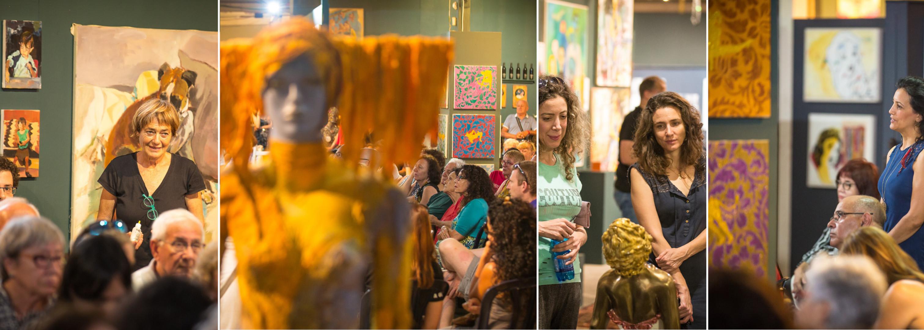 פרהסיה - שבת אמנותית בגלריה