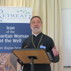 Fr Anastasios Salapatas gave a history of the meaning and significance of icons.