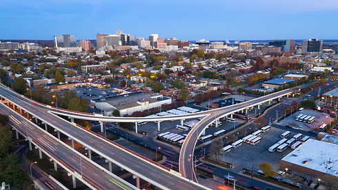 static-shot-over-highways-and-downtown-c