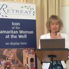 Chief Executive Alison MacTier spoke about the significance of the Icon to the work of the Retreat Association.