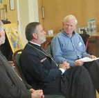Our patron Rev Graham Sparkes facilitated a Q & A session with our speakers.7_62116173253810