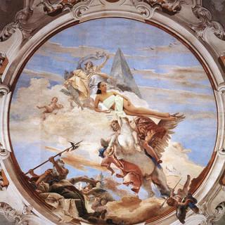 Venus accompanied by Bellerophon on Pegasus (2019)