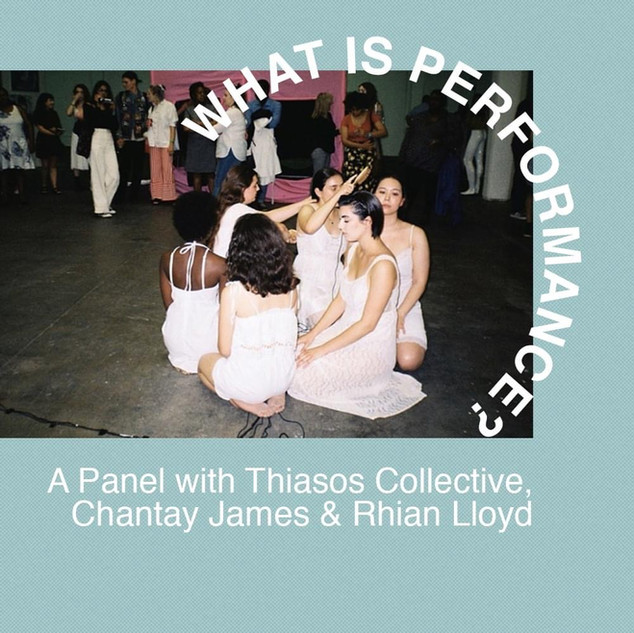 Gwak performance art panel discussion
