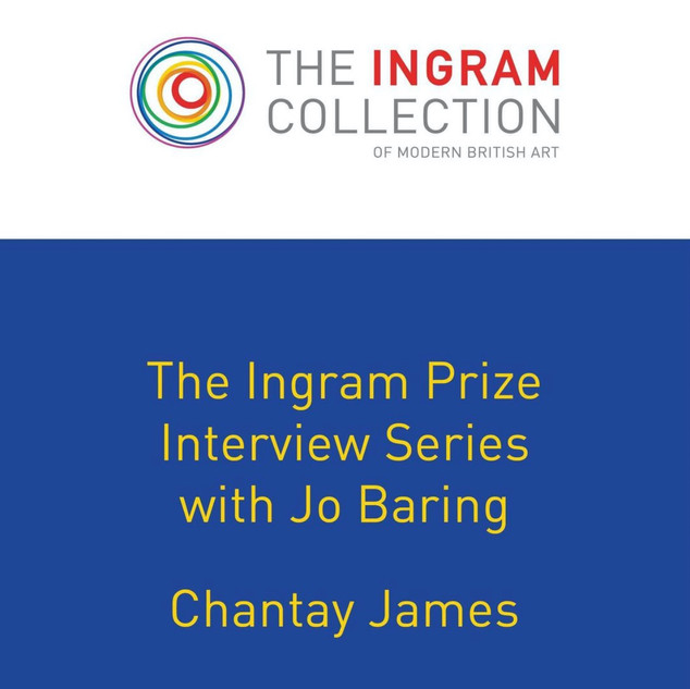 Live interview with Jo Baring for The Ingram Prize 2020