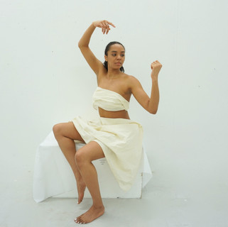 Pose from a series of Venus paintings