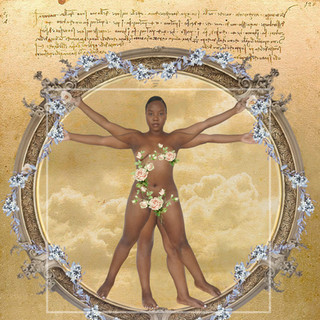 The Bloom Of Vitruvian Woman (2020)