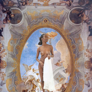 Allegory of merit, accompanied by Ebony (2019)