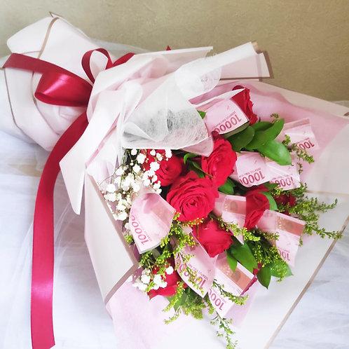 Money Flower bouquet HB 2102