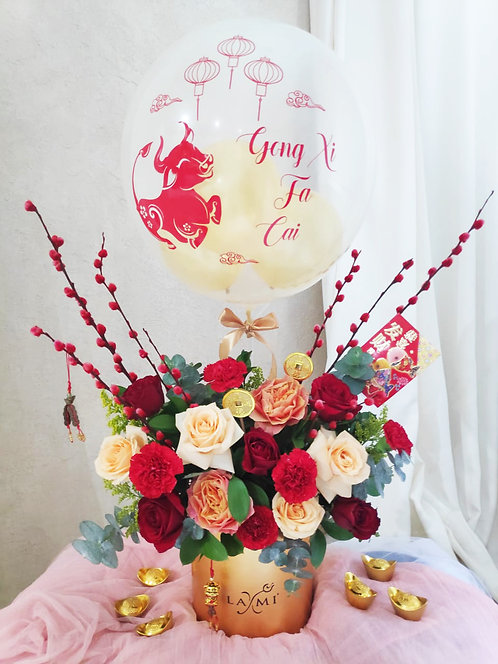 Chinese New Year Flowers IM 2109