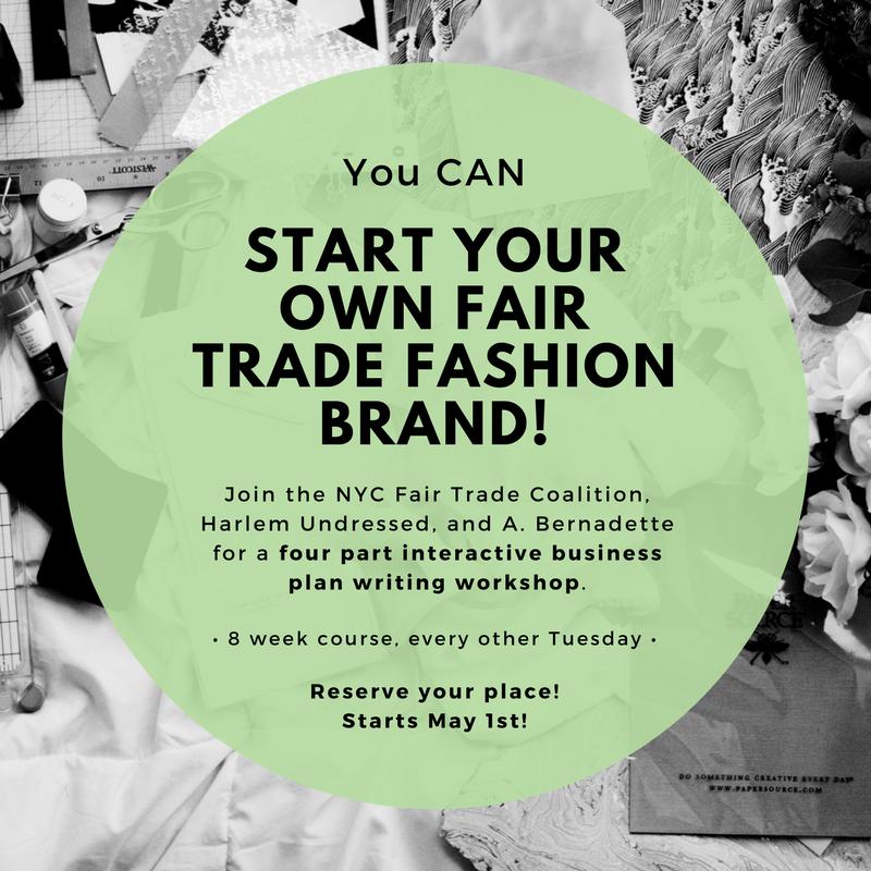Start your own fair trade fashion brand