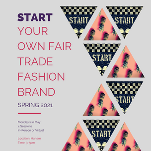 Start Your Own Fair Trade Fashion Brand