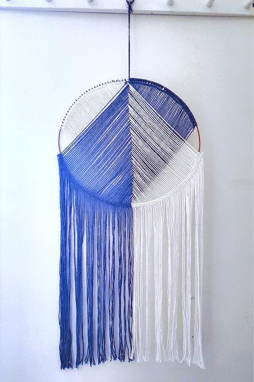 Blue/White Dream Catcher
