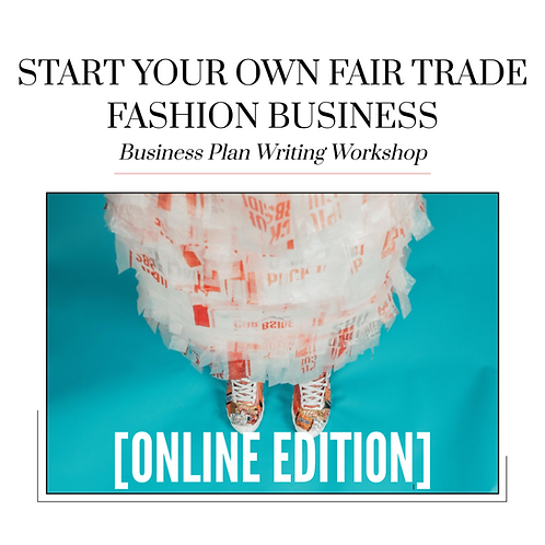 Start Your Own Fair Trade Fashion Brand Worksheet Package