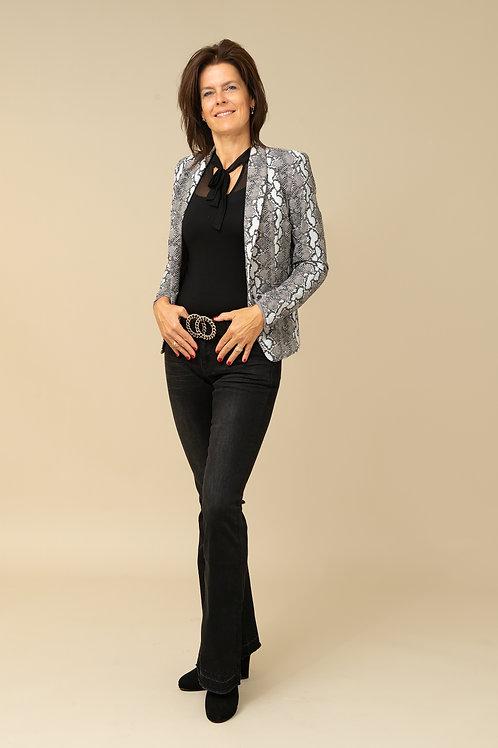 snake print blazer 50% SALE