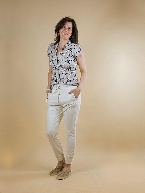 blouse grafische print