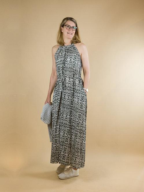 lange jurk (2 kanten draagbaar)